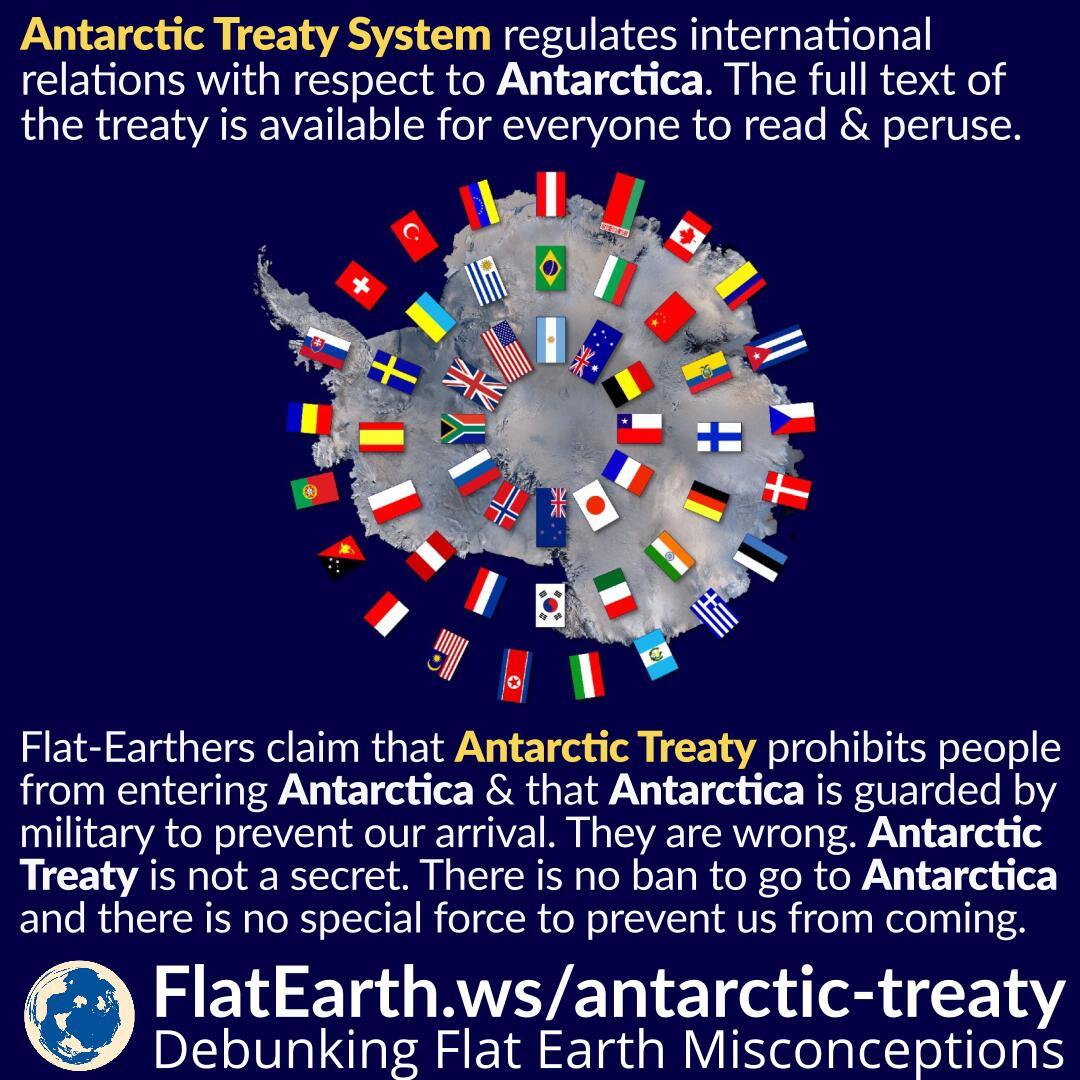 The Antarctic Treaty Conspiracy Theory Flatearth Ws